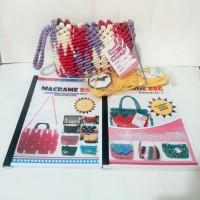 Paket Hemat Buku Tali Kur Edisi 1 Dan Edisi 2 Macrame Bag By Zeptaify