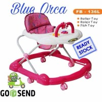 FAMILY BABY WALKER FB - 136 L PINK