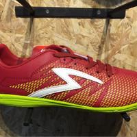 Sepatu futsal specs Apache in dark red/solar slime new 2017 Terlaris