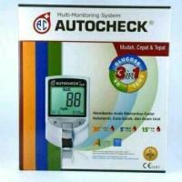 Auto  check Alat cek gula darah  Asam  Urat Kolesterol