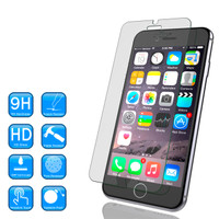 iPhone 4/4s/5/5s/6+/6 Plus Tempered Glass / Screen Guard / Anti Gores