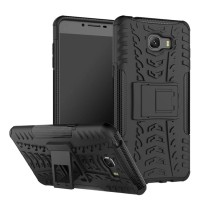 RUGGED ARMOR Samsung C9 PRO hard soft case kickstand back cover casing
