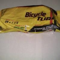 Bicycle Tube Ban Dalam Sepeda Swallow ukuran 28 x 1 1/2, English Valve