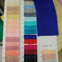 bahan organza/kain organza(harga permeter)