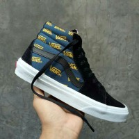 Sepatu Vans Sk8 Sk 8 Hi Pro Black Cyber Yellow Waffle DT Premium BNIB