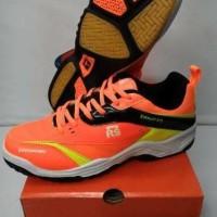 Sepatu Badminton Rs - Sirkuit 570 - Orange Lemon (Original)
