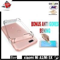 CASE XIAOMI MI A1/ MI 5X BONUS ANTI GORES BENING CLEAR