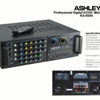AMPLIFIER MIXER ASHLEY KA 6500 ( 300 WATT ) ORIGINAL