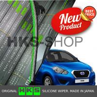 Wiper Mobil Datsun Go HKS Pro Silicone Frameless 1 pcs
