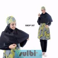 Baju Renang Muslim Muslimah Ukuran S dan M Dewasa Sulbi-SBDP-357