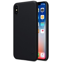 Nillkin Frosted Shield cover case Apple iPhone X - Hitam
