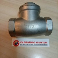 CHECK VALVE STAINLESS STEEL 1 1/2