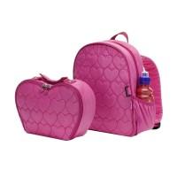 Babymel girls heart rucksack