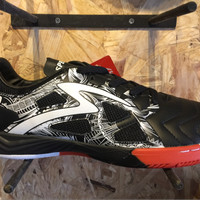 Sepatu futsal Specs Metasala The Beast Black/white Orig Limited