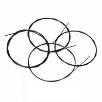 Ukulele String 4 Strings Nylon / Senar Ukulele 4 pcs/set Hitam/Black