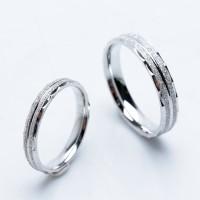 Ring Couple Korea, Silver Emas Putih ASLI, RC 051 (Garansi 6 bulan)
