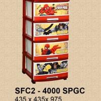 Lemari Plastik Napolly SFC2-4000 SPGC 4 Laci