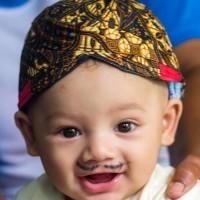 blangkon jogja /solo bayi anak murah pelengkap baju adat jawa