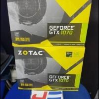 (New Original) Zotac Geforce Gtx 1070 8Gb Ddr5 Dual Fan