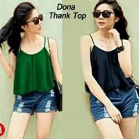 3386 dona thanktop/baju wanita murah/baju grosir/baju murah grosiran