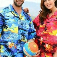 Kemeja Pantai Hawai Bali XXXL Besar Atasan Pria dan Wanita Baju Murah