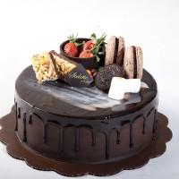 Chocolate Fudge / Birthday Cake ukuran 20 cm / Kue Ulang Tahun / Ultah
