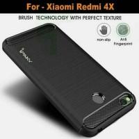 Xiaomi Mi Redmi 4x prime case cover armor casing carbon model ipaky