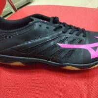 Sepatu Futsal Mizuno Basara 103 Sala Black Pink Original Promo