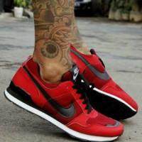 TERLARIS! Sepatu Nike Pegasus Azr Merah List Hitam MURAH! BUKAN yeezy