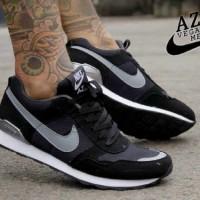 TERLARIS!!! Sepatu Nike Pegasus Azr Hitam List Abu MURAH! BUKAN yeezy