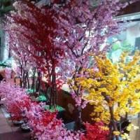bunga sakura artificial tinggi 170cm
