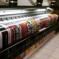 Cetak Spanduk bahan Flexi korea 440gr | Banner | xbanner |Jumbo banner