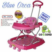 FAMILY BABY WALKER CAR STIR AYUN FB - 2121 PINK