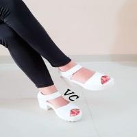 Sepatu/Sandal High Heels Morymony Docmart Putih Murah