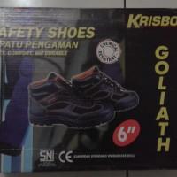 DIJUAL Safety Shoe - Sepatu Semi Boot Safety Krisbow Tipe Goliath 6