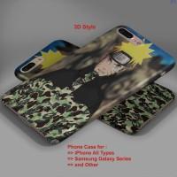 NARUTO x BATHING APE BAPE x PUMA hard case,iphone case,semua hp