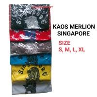 3 BAJU MERLION SINGAPORE KAOS PRIA WANITA BAJU