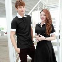BARU [Cp Star Hitam SW] baju couple spandex hitam