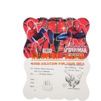 Kartu Undangan Ulang Tahun spiderman/ Pesta Ultah Invitation/ undangan