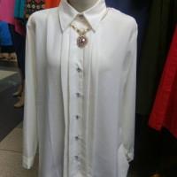 atasan blouse kemeja lengan panjang wanita murah tanah abang