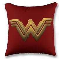 Bantal Wonder Woman Logo Bantal Mobil Bantal Print Superhero 40 x 40cm