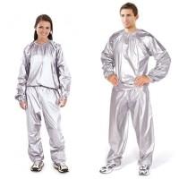 MC O1 Baju Sauna Suit OMG Jaket Celana Olah Raga Pria Wanita Best Qua
