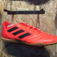 Sepatu futsal adidas original Ace sala 17.4 orange black new 2017