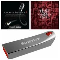 Top 300 Lagu Koleksi Audiophile Song Format FLAC dan Flashdisk Sandisk