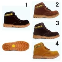 Sepatu Caterpillar Safety Boots Orion Suede BUKAN ori kickers docmart