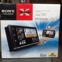 Bandung Car Audio Double Din Sony XAV-741 Mirror Link