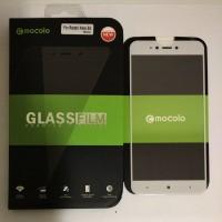 MOCOLO Tempered Glass Full Cover - XiaoMi RedMi Note 5A  (White)