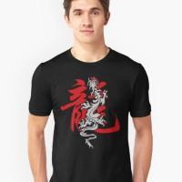 Atasan/Kaos/T-Shirt/Chinese Year of the Dragon