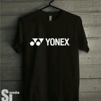 Kaos Tshirt Baju Combed 30S Distro Yonex Badminton Bulutangkis