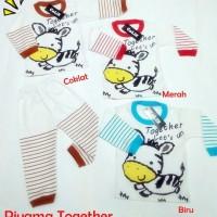 Piyama Anak Together 0-1thn Setelan Anak Baju Anak Murah Unisex